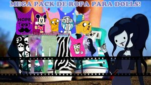 Super Pack de ropa PNG Para Dolls! by camiiLoveEditons