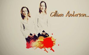 Gillian Anderson Wallpaper by MyPluginbaby13