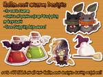$5 Halloween Charms - Free Shipping by Valkymie