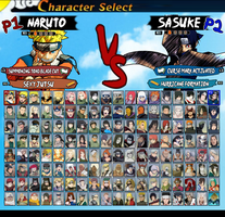 My Ultimate Naruto Roster by LeeHatake93