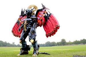 Bahamut - in the field by DarkerLink