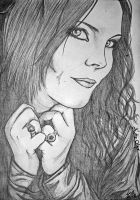 Anette Olzon by WishOfBlood