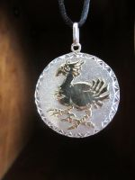 Final Fantasy Chocobo Pendant - 4 by Silverthink