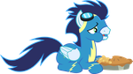 That Pony Sure Does Love Pies by ChainChomp2