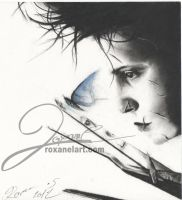 edward scissorhands by RoxaneLys