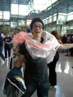 ECCC pictures: ALL HAIL. THE MIGHTY. GLOW CLOUD. by ParadoxialGamer