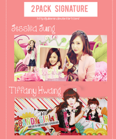[140521] Signature - Jessica and Tiffany ( SNSD) by JulieMin