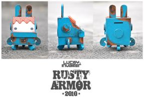 Rusty Armor Wooden Toy2 by GuGGGar