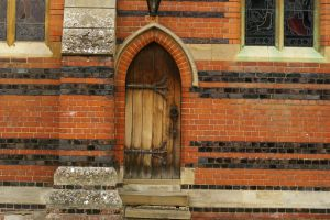 Chalfont St Peter Church Door by Eiande