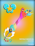 Royale Magical Keyblade by portadorX