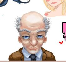 iScribble Old Guy by pauljs75