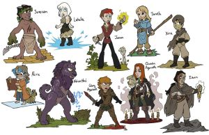 RuneWriters: CHIBIS by Shazzbaa