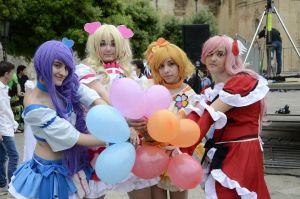 Fresh Precure Cosplay Group by Karycch