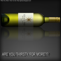 Are you thirsty for more?-psd by wildsway18