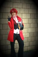 Grell Sutcliff Cosplay by FlameWhispers