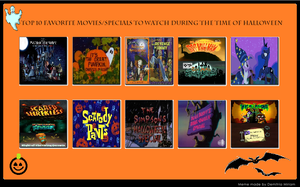 My Top 10 Halloween Films and Specials by cartoonfanboyone