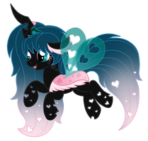 OC: Lovebug the Half Changeling by SilverRomance