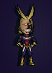 All Might - My Hero Academia (Papercraft Model) by RavaMaster