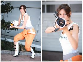 Portal Cosplay by Knorke-chan