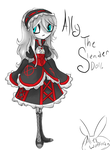 Gift, Ally the Slender Doll. by Bunniesovercats