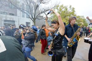 2014 Honk Festival,Chaotic Noise In the Audience3 by Miss-Tbones