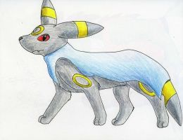 Umbreon ftw by Wildbatty