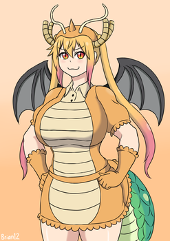 Commission: Dragonite Tohru for KZN02 by Brian12