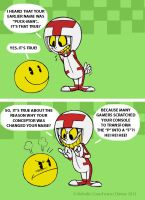 The Truth about Pac-Man! by Turbotastique