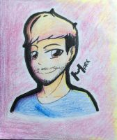 Markiplier School Sketch by PetaltheKittyCat