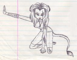 Lioness by mashaheart