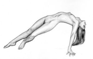 Nude Study by dashinvaine