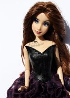Disney Vanessa Doll Repaint #2 by claude-on-the-road