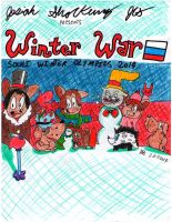 Winter War: Sochi Winter Olympics 2014 by Josiah-Shockency-JCS