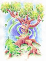 The Tree of Life by Stetnee