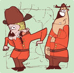 Dancing Mounties by Rodos19