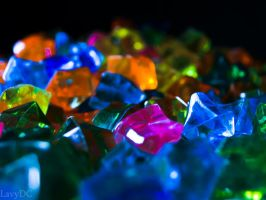 Coloured diamonds by lavydc