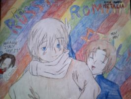 APH : Russia, Romano and Italy by LightShappy