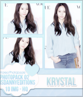 Krystal (F(x)) - PHOTOPACK#02 by JeffvinyTwilight