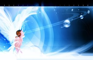 Angel Wallpaper by chicho21net