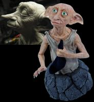 HP Dobby minibust by Matthew-J-Black