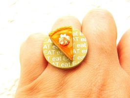 Cheesecake Whip Cream Eat Ring by souzoucreations