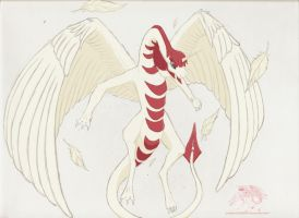 Draconified Faust by Silverthe-Dragon