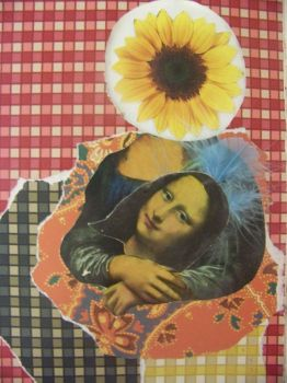 Altered Book- Mona Flower by PrimeTimePoetry