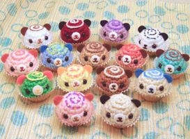 Amigurumi Bon Bon Group by amigurumikingdom