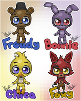Cute 5 Nights at Freddys by Luifex