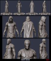 Revan sculpt update 2 by digitalinkrod