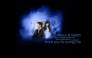Mercy and Adam: Thank You by SimplyDreams