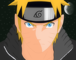 Naruto Uzumaki - Night by fooztt
