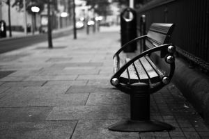 Adventures : Street Bench by CeeJay-Fox