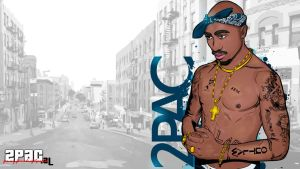 2pac vector by akyanyme